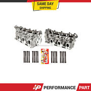 Left And Right Cylinder Head W/ Bolts For 1988-1995 Toyota Pickup 4runner 3.0 3vze