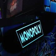 Monopoly Stern Pinball Lighted Magnetic Hinge Covers-el Panel Mod-light Blue