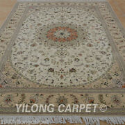Clearance Yilong 6and039x9and039 Handmade Wool Area Rugs Weave Hand Knotted Carpet 1443