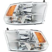 Ch2502281c, Ch2503281c Headlight Lamp Left-and-right For Ram Truck Lh And Rh 1500