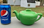 Hall China Tricolator Pour Right Teapotemerald Green 3-4cupreduce Collection
