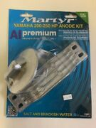 Yamaha 200-250hp Outboard Premium Anode Kit For Salt And Brackish Water New