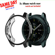 For Samsung Galaxy Watch 46mm Accessories Soft Tpu Plating Protection Case Cover