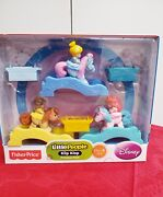 Fisher-price Little People Disney Klip Klop 3-pc Princess Pack Toddler Baby Toy