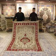 Clearance Yilong 5and039x8and039 Classic Handmade Wool Rug Handwoven Blanket Carpet 2036