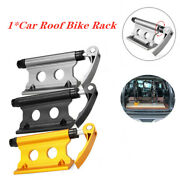 Cnc Alloy Screw Bicycle Fork Holder Bikes Support Mount For Car Suv Bed Rack