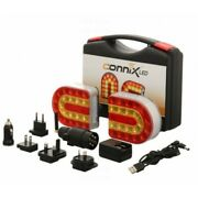 Connix Wireless Led Lighting System Trailer Tractor 4x4 Digger 12v Only Magnetic