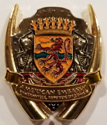 Usmc Marine Security Guard Det Msg-det Brazzaville Rep Of Congo Africa Coin