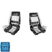 1966-68 Gm Cars Bucket Seat Frame Assembly Lh And Rh New- Pair
