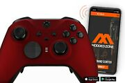 Soft Red Xbox One Elite 2 Series Smart Custom Modded Controller Mods For Fps