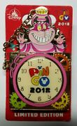 Disney Hkpin Go Event Cheshire Cat Le600 Pocket Watch Pin Free Shipping