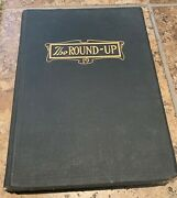Wwi Ed Antique 1919 Baylor University Round-up Annual Yearbook Roundup