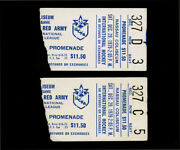 12-29-1979 Red Army Defeats Stanley Cup Champs New York Islanders 2 Ticket Stubs