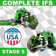 Stage 5 67-69 Chevy Camaro Mustang Ii Ifs Kit Pro-touring Super Deluxe 327 302