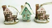 Christmas Ornaments David Winter Cottages Suffolk House And Originals By Joyce
