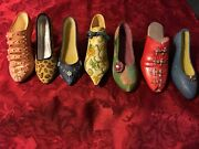 Vintage Lot Just The Right Shoe Collectibles