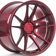4 20 Staggered Rohana Rf2 20x9 20x10 Red Concave Wheels Forged Rims A1