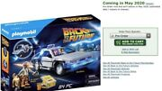 In Stock Playmobil Back To The Future Delorean Set May 2020 Time Machine