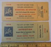 2 1948 Long Island Air Expo Show Idlewild Queens Aviation New York City Tickets