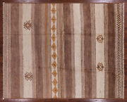 Southwest Navajo Hand Knotted Moroccan Wool Rug 7and039 6 X 9and039 1 - Mc254