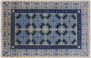 6and039 2 X 9and039 3 William Morris Hand Knotted Wool Rug - P4985