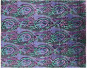 7and039 10 X 9and039 10 William Morris Handmade Wool Rug - P7001