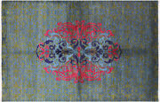William Morris Handmade Rug 6and039 0 X 9and039 1 - P7118