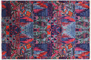5and039 11 X 8and039 9 William Morris Hand Knotted Rug - P7749