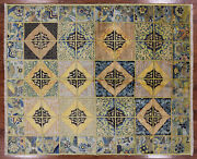 6and039 7 X 7and039 10 William Morris Hand Knotted Wool Area Rug - Q1819