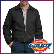 New Menand039s Lined Eisenhower Jacket Water Repellent Heavy Duty Work Coat