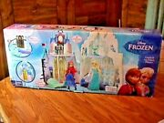 New Toy In Box Disney Frozen 2 In 1 Elsa And Anna Castle And Ice Palace 10 Pc And Olaf