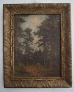Landscape Painting By Mary Amanda Lewis 1872-1953 Listed California Artist