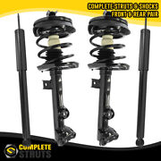 2002-2007 Mercedes C230 Rwd Front Complete Struts And Rear Shock Absorbers W203