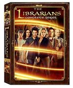 The Librarians Complete Series Seasons 1-4 12-disc Dvd Box Set