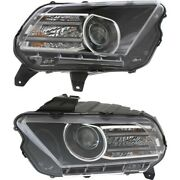 Fo2518113c Fo2519113c Hid Headlight Lamp Left-and-right Hid/xenon Lh And Rh