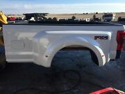 17-19 Pearl White Ford Superduty Dually Box 8andrsquo Super Duty F350 Drw Long Bed New