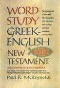 Word Study Greek-english New Testament With Complete Concordance - Good