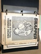 Snapper Parts And Manual Engines, Tractors, Blowers, Walk Behind, Riding Mower