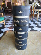 Antique 1846 The Illuminated Bible Containing The Old And New Testaments