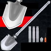 Outdoor Survival Tactical Folding Camping Shovel With Battle Axe Multitool 306