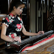 48 Professional Guqin Chinese 7-stringed Zither Instrument -fu-hsi Styley 2828