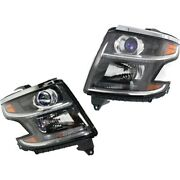 23490005, 23490006 Gm2502405, Gm2503405 Headlight Lamp Left-and-right For Chevy