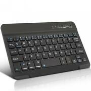 Wireless Keyboard Slim Compact Portable Keypad Rechargeable For Cell Phones