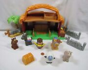 Fisher Price Little People Christmas Nativity Lil' Drummer Boy '06 Music Sounds