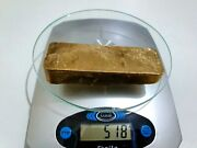 518 Grams Scrap Gold Bar For Gold Recovery Melted Different Computer Coin Pins