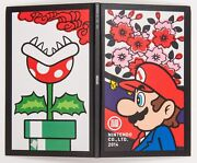 Super Mario Covered Nintendo Company Guide Book 2014 Japane Limited Game And Watch