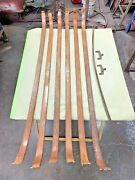 1951 Chevy Headliner Bows And Two Clips Tin Woody Station Wagon