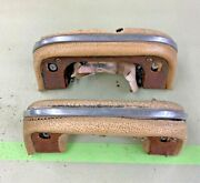 1951 Chevy Arm Rests For Front Doors Passenger And Driver Tin Woody Station Wagon