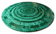 30 Marble Coffee Table Top Malachite Stone Inlay Mosaic Patio Home Decors H2056