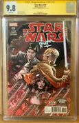 Han Solo 31 Cgc 9.8 Signed By Harrison Ford Star Wars Marvel Comic Signature
